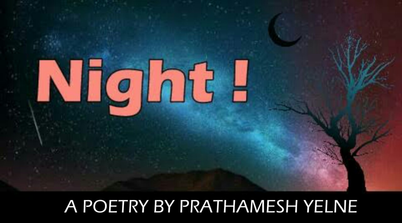 Night | the nature poetry in english | poetry by shayarix