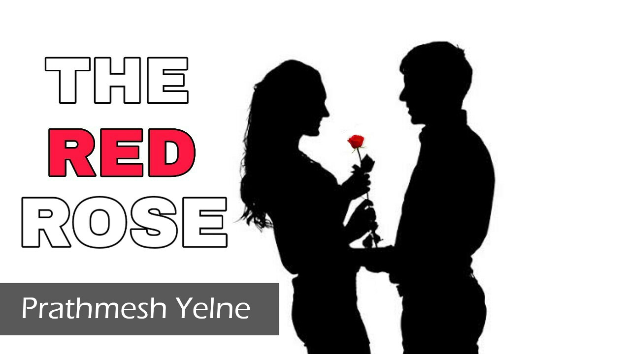 THE RED ROSE ⚘ | the love poetry in english | Shayarix